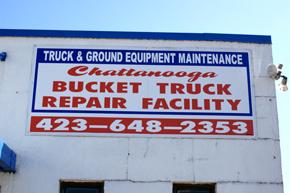 bucket truck repair