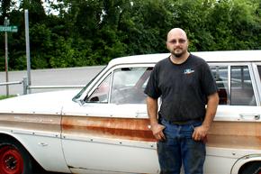 Dave's car